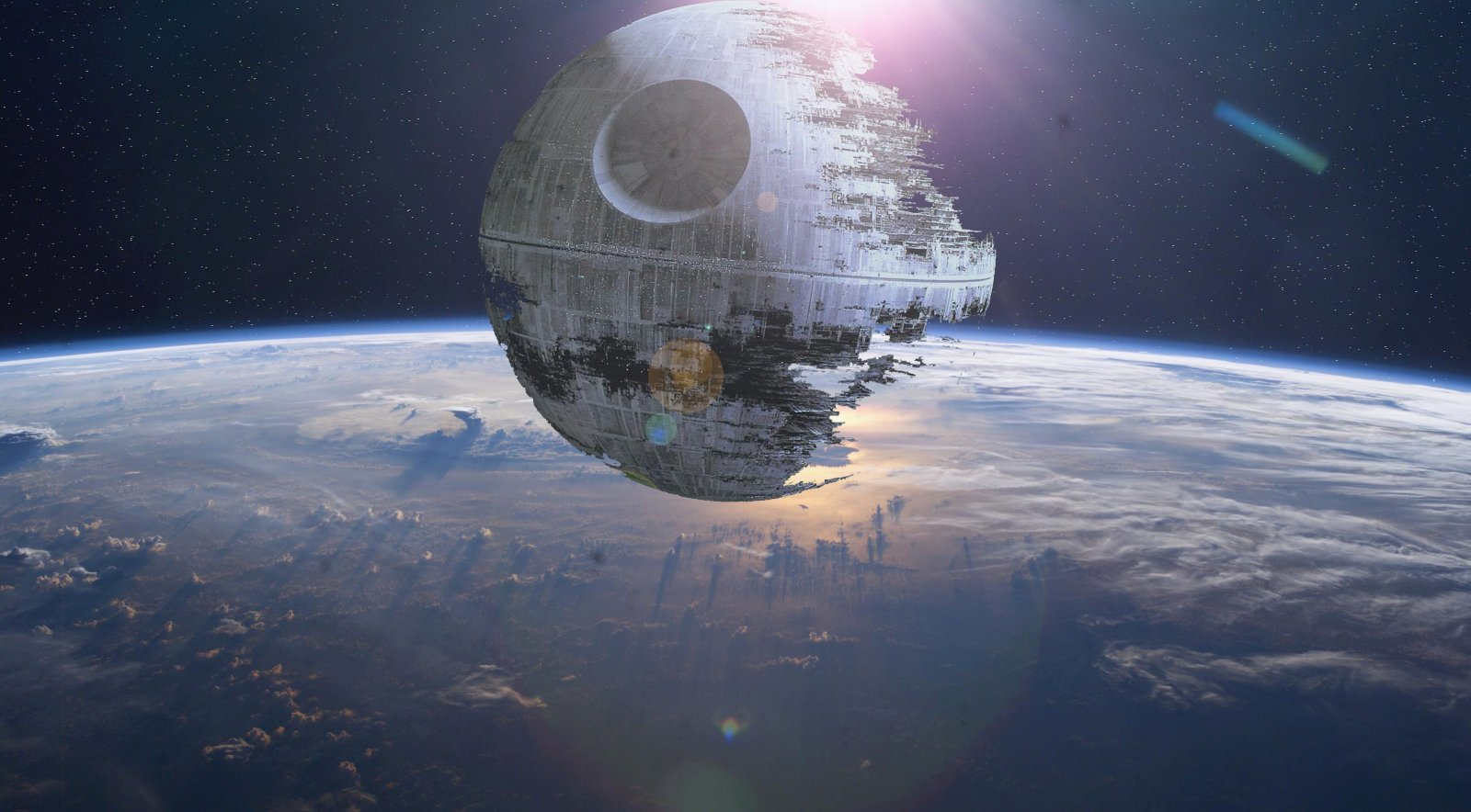 The Second Death Star Under Construction