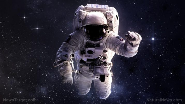 an astronaut in a spaceship see the outer space as - photo #2